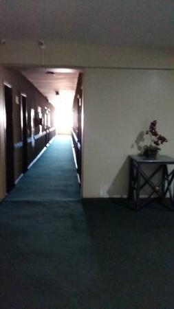 Lider Palace Hotel: Corredor para quartos