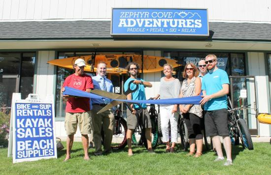 Zephyr Cove Adventures: Ribbon Cutting