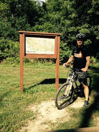 Cambridge, WI: Trailhead map