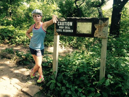CamRock Trail: Me by the sign