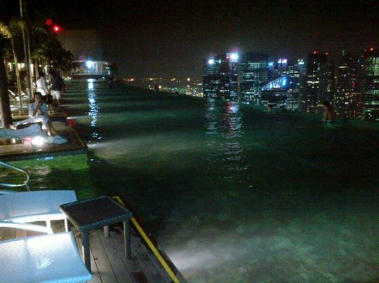 Swimming Pool Top Floor Marina Bay Sand Singapore Picture Of Marina Bay Sands Singapore