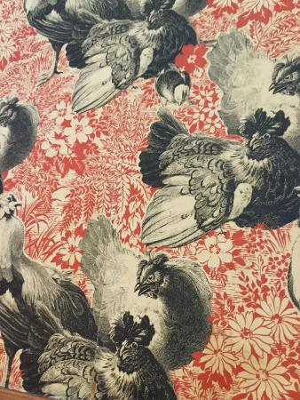 Mineral Point, WI: even chicken-themed wallpaper