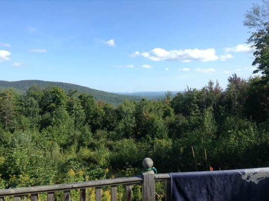 Mansonville, Canada : view towards Vermont