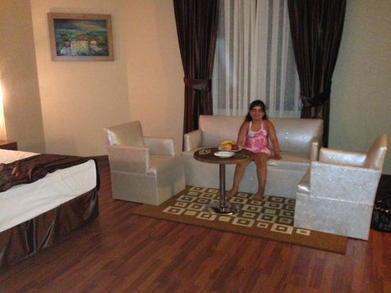 Elite Hotel Kucukyali: Odadan bir resim cok güzel ve temiz odalari var.