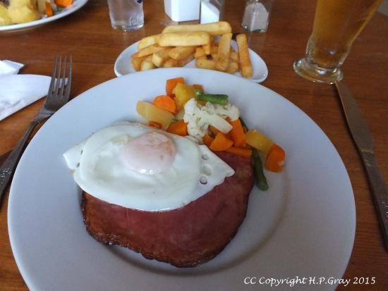 Argyll Arms Hotel: Gammon steak