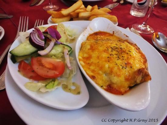 Argyll Arms Hotel: Lasagne
