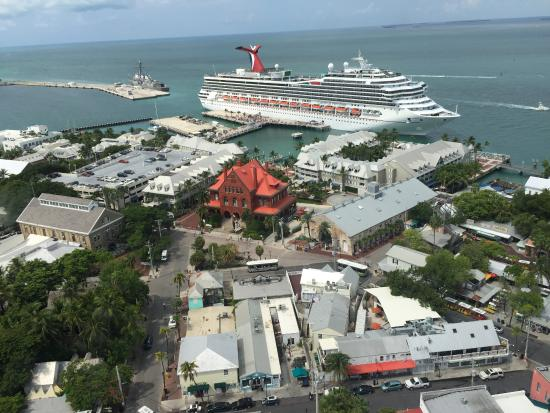 Carnival Cruise Ship Picture Of Air Adventures Helicopter Tours - Cruise ship key west