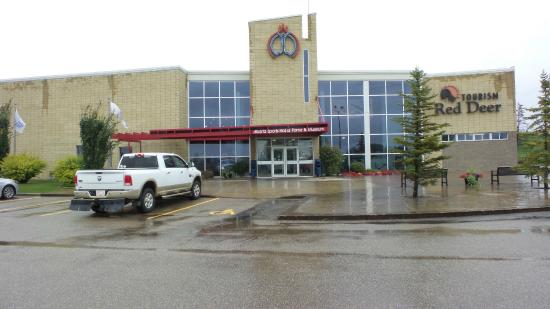 Alberta Sports Hall of Fame and Museum: View of venue