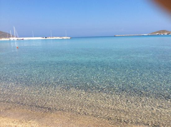 Kythira Golden Resort: Beach