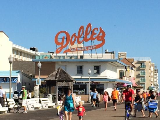 Dolles On Rehoboth Beach Boardwalk