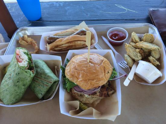 The Bistro Box: the food