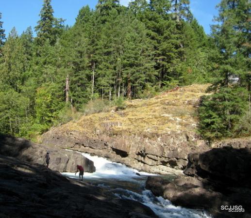 Picture Of Elk Falls Provincial Park