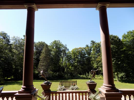 Ventfort Hall Mansion and Gilded Age Museum: View out the back door