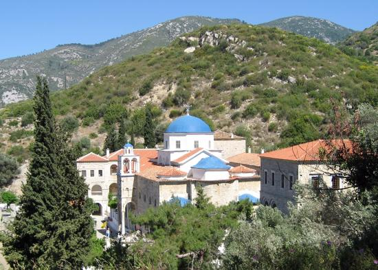 Monastery of Panagia Spiliani - Picture of Monastery of Panagia Spiliani, Pyt...