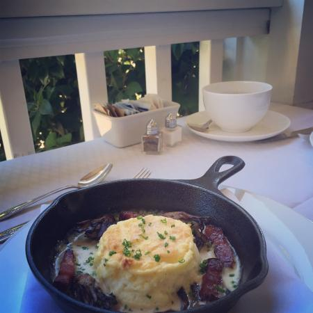 Luxe Calistoga: Breakfast