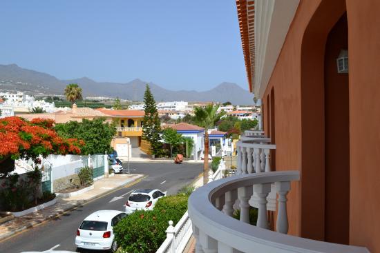 Callaomar : Вид с балкона спальни