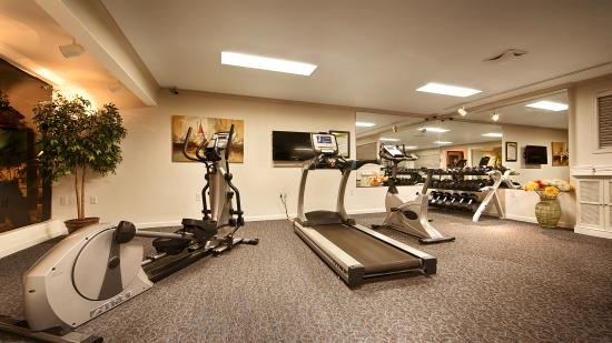 Best Western Plus Humboldt Bay Inn: Fitness Room with treadmill, bike, elliptical