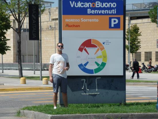 Mappa del Centro   Vulcano Buono