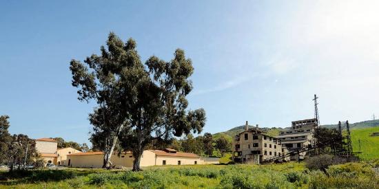 Riesi, Włochy: Miniera Trabia