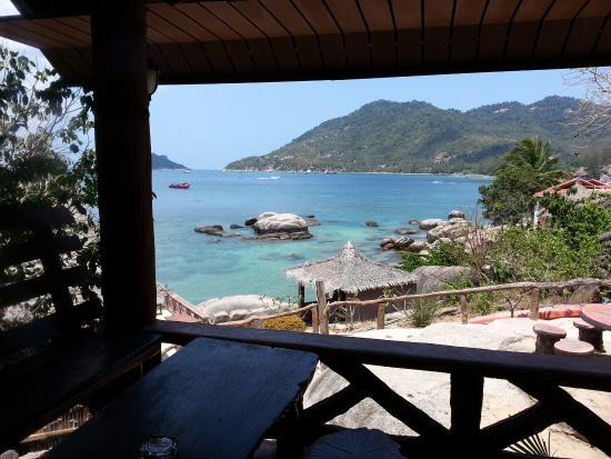 D.D. Hut Bungalows & Restaurant: Vistas desde el bungalos