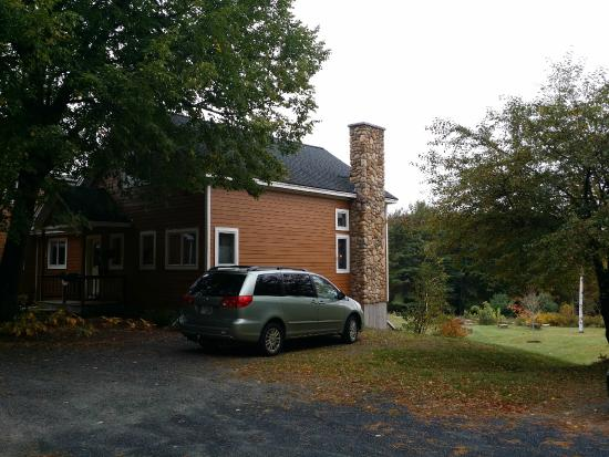 Newbury, NH: Front/side view of property - beautiful place!