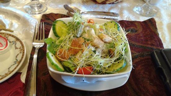Auberge Agnes Horth and Bakery: Salade césar pas très césar mais fraîche