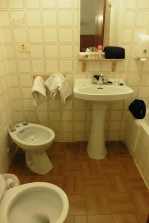 Hotel Jardin: El baño