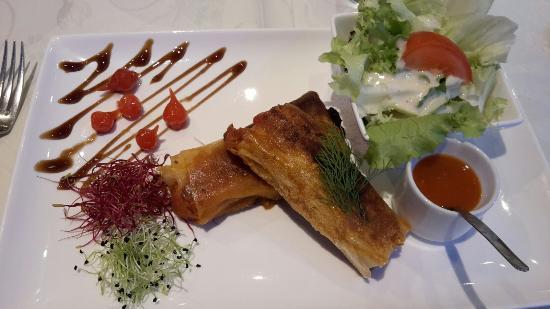 Raon-l'Etape, فرنسا: Mon repas delicieux