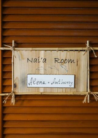 Aloha Guest House: Nai'a Room Door