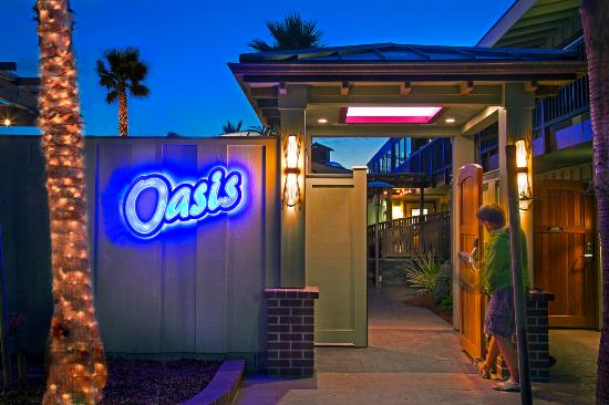 "Best Western Plus Humboldt Bay Inn: Entrance to NEW ""Oasis"" spa area"