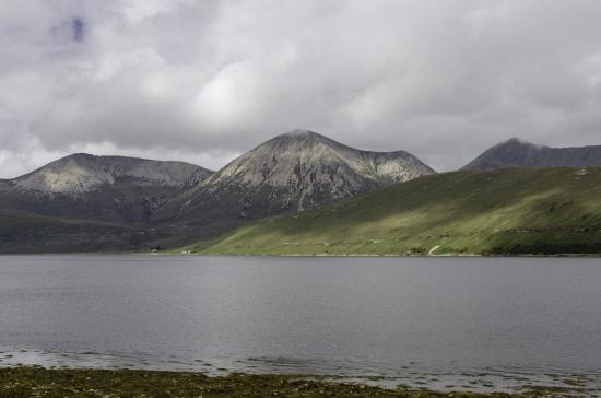 Balmacara Hotel: Vista dall'hotel sul Loch Alsh