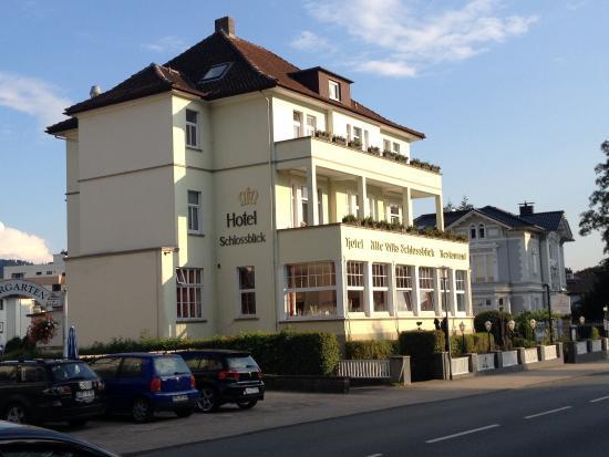 Alte Villa Schlossblick: Die Sonne geht unter