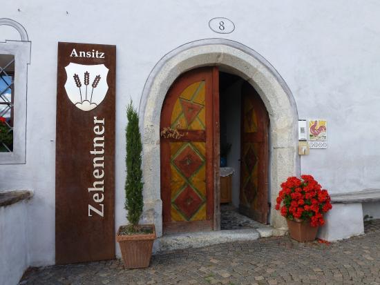 Ansitz Zehentner: Ingresso del maso