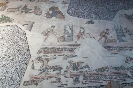 Great palace mosaics Istanbul - Picture of Mosaic Museum ...