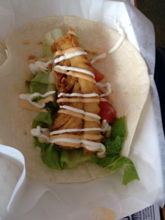 King George, فيرجينيا: Fish Taco