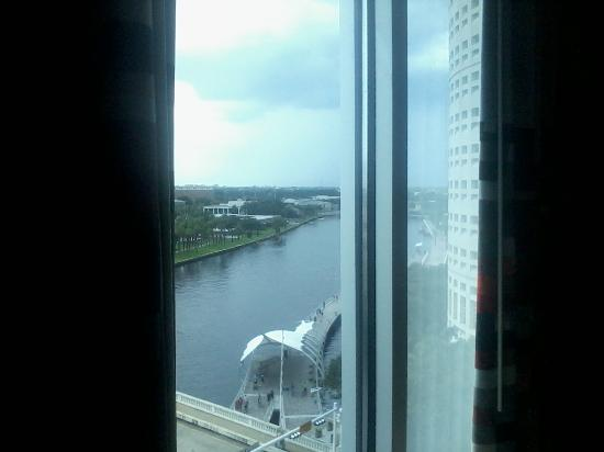Aloft Tampa Downtown: North view out of my room window
