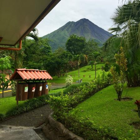 Los Lagos Hotel Spa Resort Arenal Volcano View From My Porch You