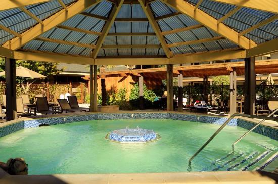 Calistoga Spa Hot Springs Relaxačný Teplý Bazén