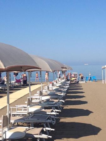 Club Alle Dune: La spiaggia