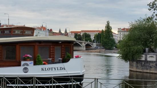 Botel Matylda: Boat Hotel on river