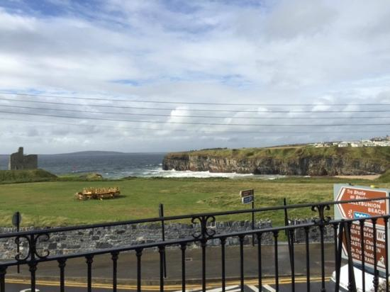 McMunn's of Ballybunion: View from room #1 at McMunns