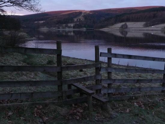 Dawn in the Goyt Valley