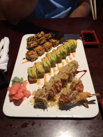 Decherd, TN: They have great Sushi rolls!