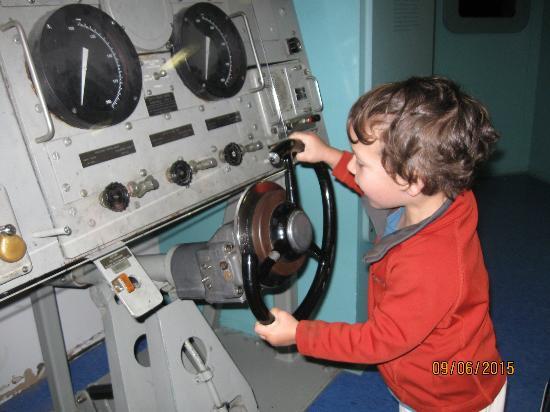 U.S. Naval Undersea Museum: He didn't want to leave
