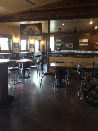 Inside Sam's Tap Room at Red Lodge Ales