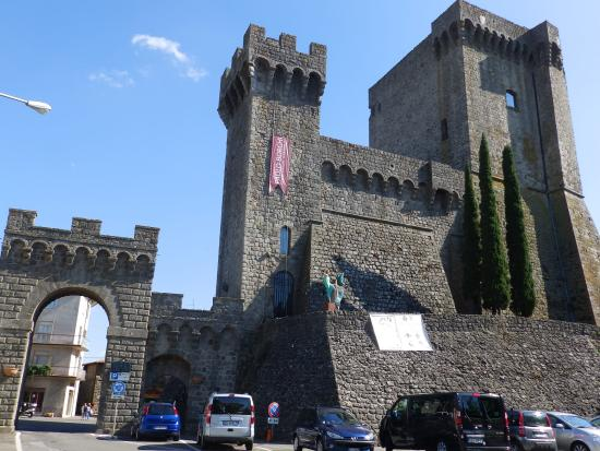 Piancastagnaio, Italy: Rocca degli Aldobrandeschi