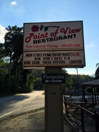 Point Of View Restaurant Lake Lure North Carolina
