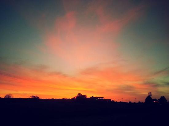 Fortuna, Καλιφόρνια: Stunning Sunset at our site!
