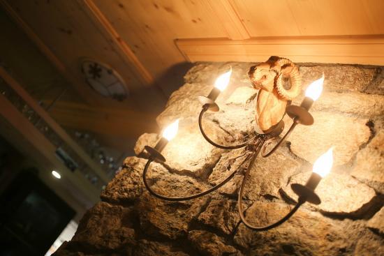 Berghaus Alpenrösli: Widder Lampe