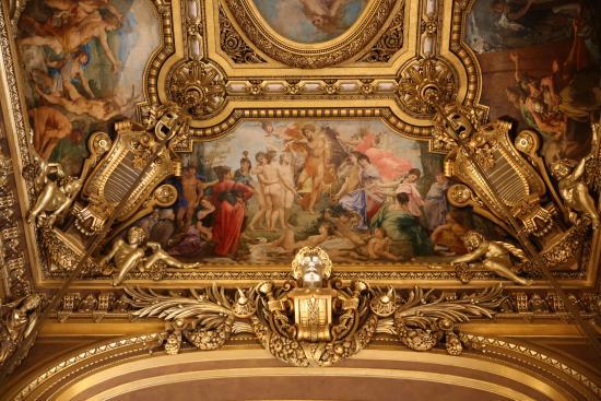 Grand Foyer Du Palais Garnier : Paris opéra garnier plafond du grand foyer picture of